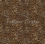 Fat Quarter - African Safari - Tiny Leopard Spots