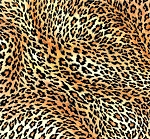 Fat Quarter - Leopard Skin