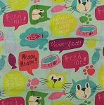 Fat Quarter - Lovely Cats