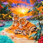 Picture This - Wild Tiger - Panel