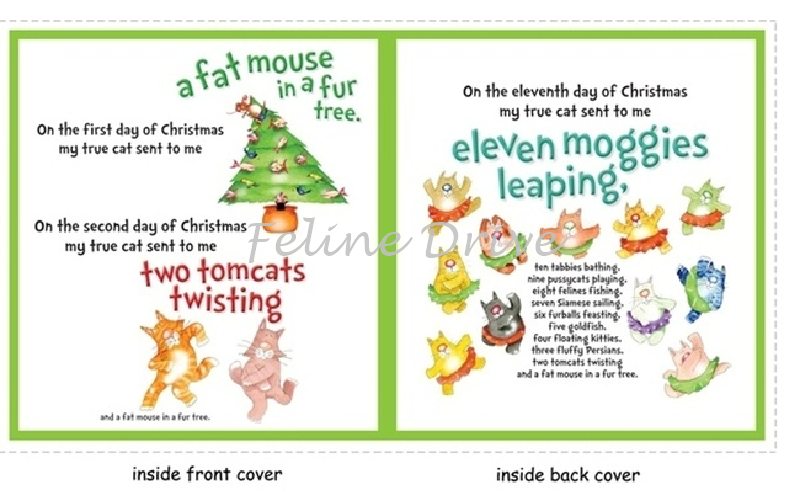 the twelve cats of christmas book panel - When Is The First Day Of Christmas
