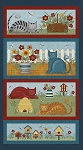Colorful Cats - Panel