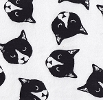 Flannel - Monochrome Cats
