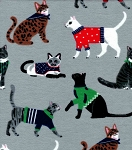 Flannel - Cats in Sweaters