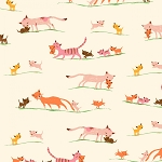 Tiger Lily - Marching Cats - Cream