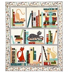 Quilt Kit - Purrfect Library