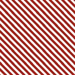 Kitten Christmas - Candy Cane Stripe - Digital