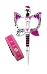Cat Scissors & Tape Measure - Pink