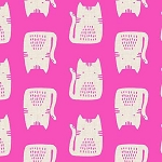 Cats and Dogs - Cats - Pink