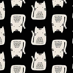 Cats and Dogs - Cats - Black