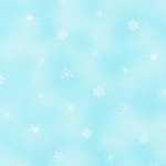 Holly Jolly Christmas - Christmas Snowflakes - Blue