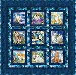 Be Pawsitive - Feline Good Quilt - KIT
