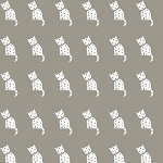 Old Made - Cat Stamp - Gray