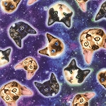 Galaxy Cats - KNIT