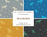 Fat Quarter Bundle - Me & You - BATIK - 4 FQs