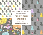 Fat Quarter Bundle - The Cat's Meow (Windham) - 3 FQs