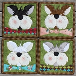 Block Kit - Bow Tie Cats - Coaster Pack