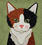 Block Kit - Calico Cat - Laser Cut