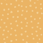 Snarky Cats - Paw Prints - Dark Gold