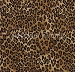 Fat Quarter - African Safari - Tiny Leopard