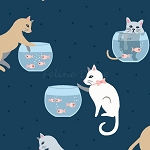 Are You Kitten Me - Cats & Fish Bowls