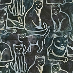 Fat Quarter - Artisan Batiks - Feline Fine - Earth - BATIK