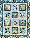 Quilt Kit - Be Pawsitive - Sophisto Cats