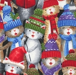 Caroling Kitties - Multi
