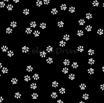 Cat Happy - Little Paws - Black