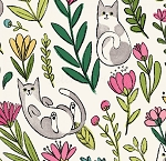 Catnip - Flower Cats - White