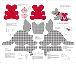 Sew & Go VIII - Cat & Mouse Stuffable