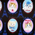 Cat Portraits & Eiffel Towers - Black
