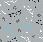 Cats Rule - Glasses - Grey