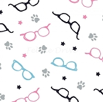 Cats Rule - Glasses - White