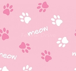 Cats Rule - Paws - Pink