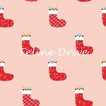 Christmas Darlings - Kittens in Stockings - Peach
