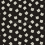 Costume Makers Ball - Cat Buttons - Black