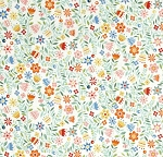 Crafty Cats - Floral - Cream