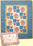 Pattern - Cuddly Kittens Quilt & Pillow