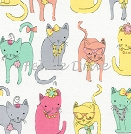 Fat Quarter - Dressy Cats