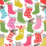 Fat Quarter - Even a Mouse - Stocking Stuffers