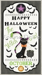 Every Witch Way - Halloween Door Banner