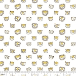 Lions and Tigers and MORE! - Feline Faces - White