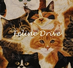 End of Bolt Piece - Feline Fine - Packed Cats - 13