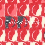 Flannel - Trefle Cats - Red