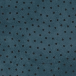 End of Bolt Piece - Flannel - Woolies - Polka Dots - Blue - 23