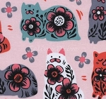 Fat Quarter - From Porto With Love - Sushi's Antiques - Pink