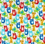 Fat Quarter - Fuzzy Cats