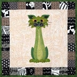 Block Kit - Garden Patch Cat - Block 6 - Stalker