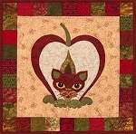 Pattern - Garden Patch Cats - Pippin Puss - Block 24